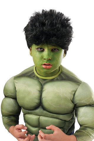 Hulk Child Wig and Make-Up Kit
