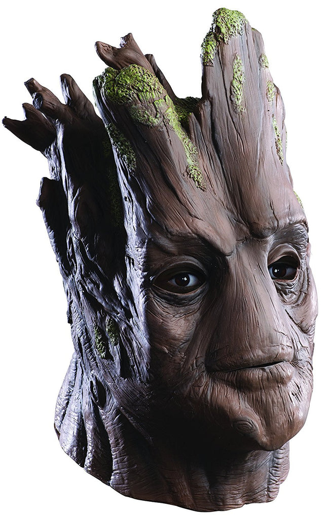 Guardians Of The Galaxy Deluxe Adult Overhead Groot Mask
