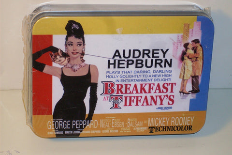 Breakfast At Tiffany's Playing Card Set in Collectible Tin