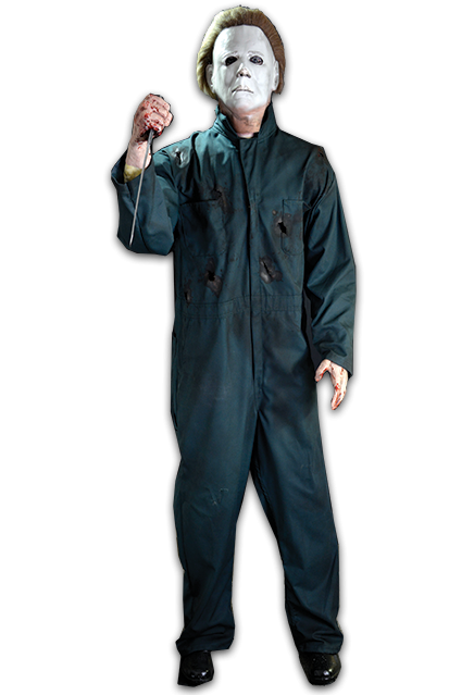 Halloween II Life-Size Animated Michael Myers Prop