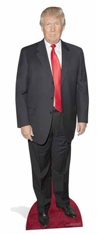 Donald Trump Red Carpet Cardboard Standup