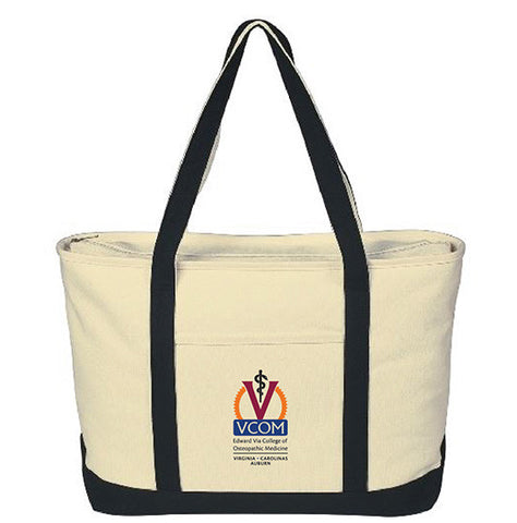 Multi-Campus Canvas Boat Tote Bag