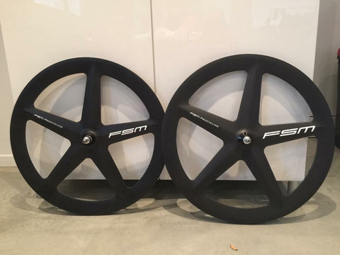 FSM Carbon Five Spoke wheelset
