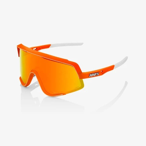 100% GLENDALE - Neon Orange - HiPER Red Multilayer Mirror Lens