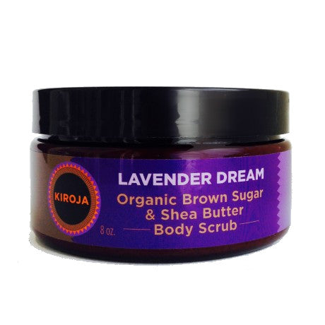 Organic Brown Sugar and Shea Lavender Scrub