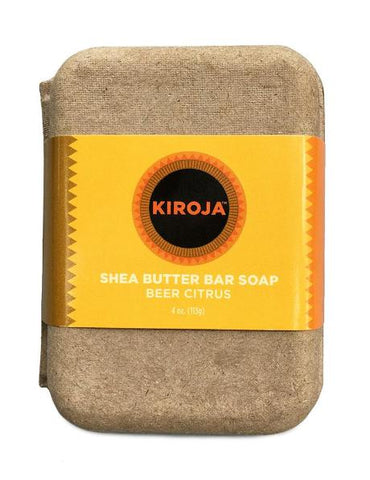 Beer Citrus Shea Soap