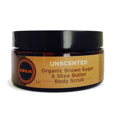 Organic Brown Sugar and Shea Scrub (Unscented)