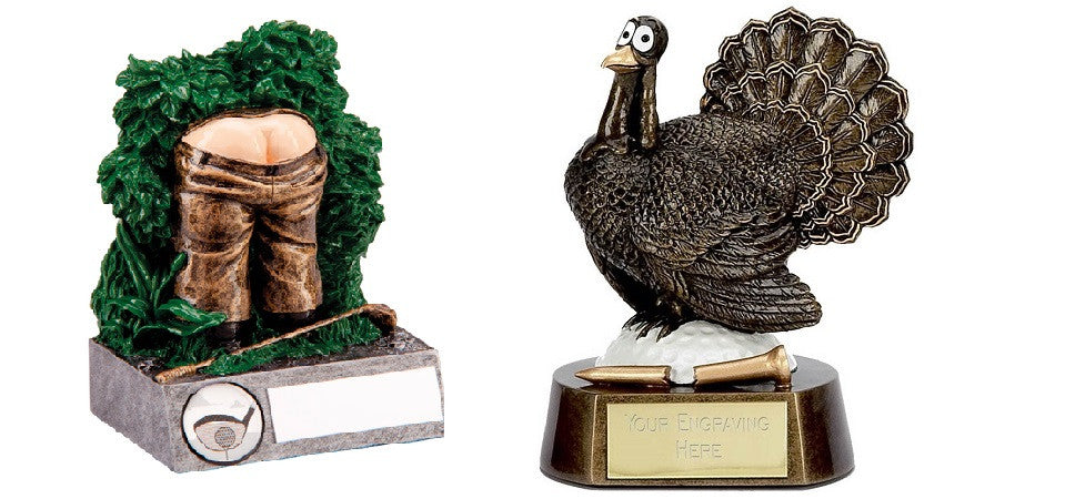 Booby Prize Lost Balls Golf Turkey