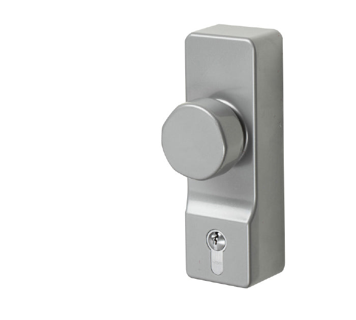 Exidor 302 Silver Outside Access Device c/w Euro Cylinder