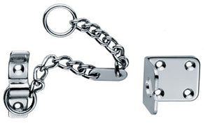 Carlisle AA75 Heavy Door Security Chain Chrome
