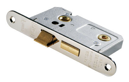 Eurospec Easi T Radius Bathroom Lock 76mm CE Certified