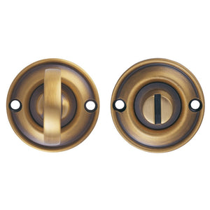 Carlisle Delmain Crackled Bronze Knob Door Pack