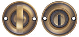 Carlisle Brass Delamain DK13 Small Thumbturn And Release Bronze