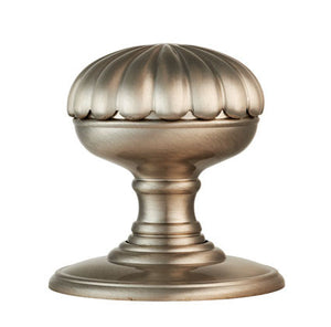 Carlisle Delamain DK36C Flower Door Knobset On Concealed Fix Rose bronze