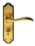 Carlisle Brass Madrid Lever On Plate 180x45mm Bronze
