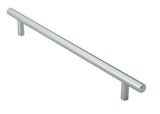 Finger Tip Design FTD2500A Satin Stainless Steel Rectangular T Bar Handle 140mm x 23mm