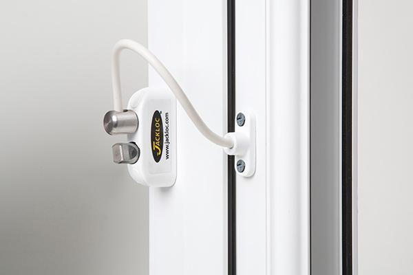 Jackloc Push & Turn Window Cable Restrictor