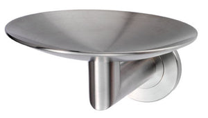 De Leau LX13 Soap Dish 112mm Marine Grade 316 Stainless Steel