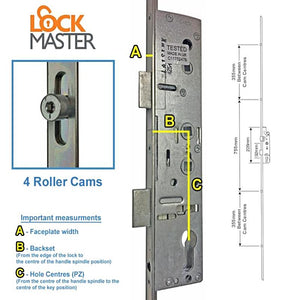 Lockmaster 35/92/62 Latch DB Case Only L/L