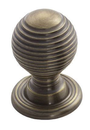 Finger Tip Design M1004 Queen Anne Knob 28mm Bronze