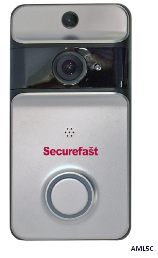 Securfast Video & Audio 2 Way Smart Door Bell & Chime