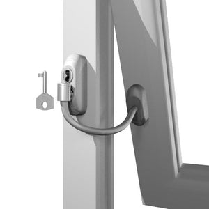 Lockable Window Cable Restrictor