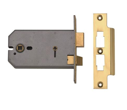 "Union 2026 5"" Horizontal Mortice Bathroom Lock"