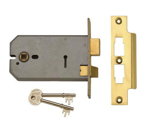 Union 2077 Horizontal Mortice 3 Lever Sashlock