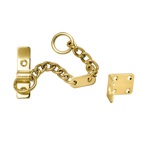 Carlisle AA75 Heavy Door Security Chain Brass