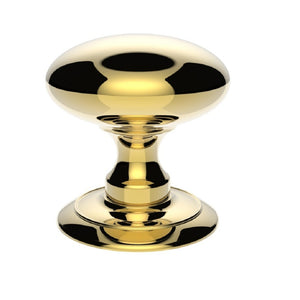 Carlisle AC055 Large Centre Door Knob Brass