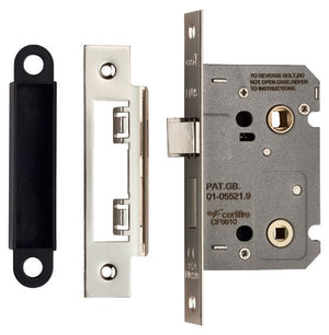 Eurospec Easi T Bathroom Lock 76mm CE Certified