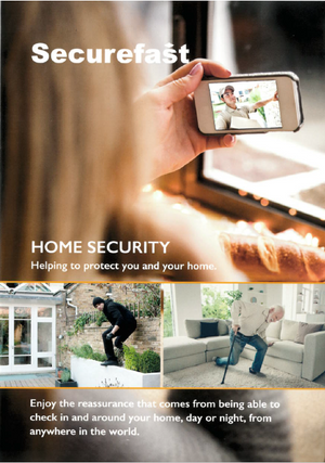 Securfast Home Security Flyer