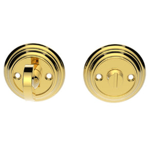 Carlisle Brass Delamain DK12 Large Thumbturn And polished brass