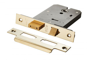 Eurospec Easi T 3 Lever Horizontal Sashlock 127mm CE Certified