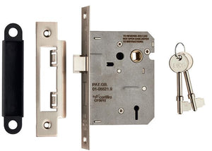 Eurospec Easi T 2 Lever Sashlock 64mm CE Certified - Finishes Range