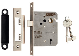 Eurospec Easi T 2 Lever Sashlock 64mm CE Certified