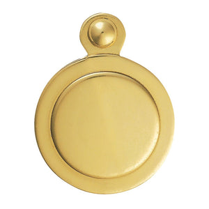 Carlisle Brass M42 Polished Brass Covered Escutcheon