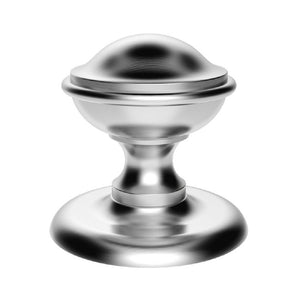 Carlisle M60 Round Centre Door Knob 10 Year Manufacturers Warranty Satin Chrome