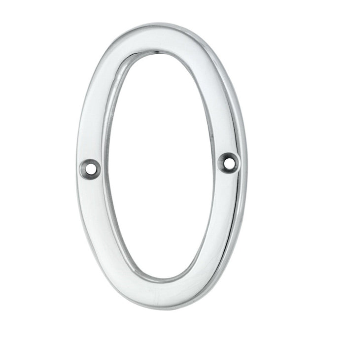 Carlisle Numeral 75mm Satin Chrome