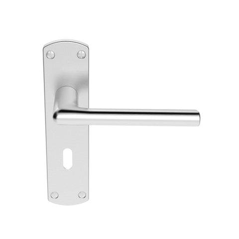 Carlisle Serozetta Uno Lever Handle On Plate - Price For Pair Including Vat