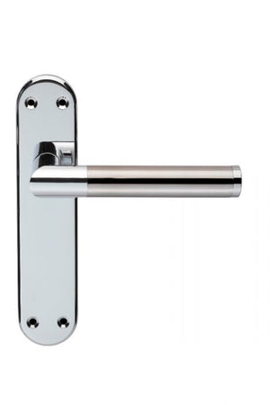 Carlisle Serozetta Scope Lever Handle On Plate CP/SN