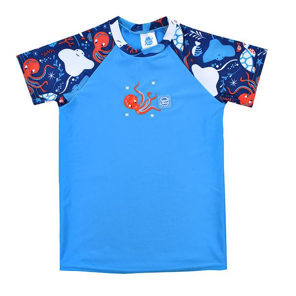 e5e93cca4 Camiseta con protección solar uv bebé Under the Sea