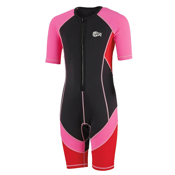 Traje de neopreno rosa Sealife