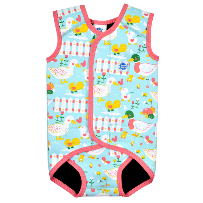 Traje de neopreno para bebé little ducks