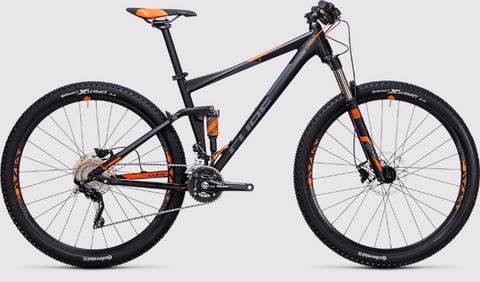 the CUBE STEREO 120 HPA PRO 29 2017 full suspension bike