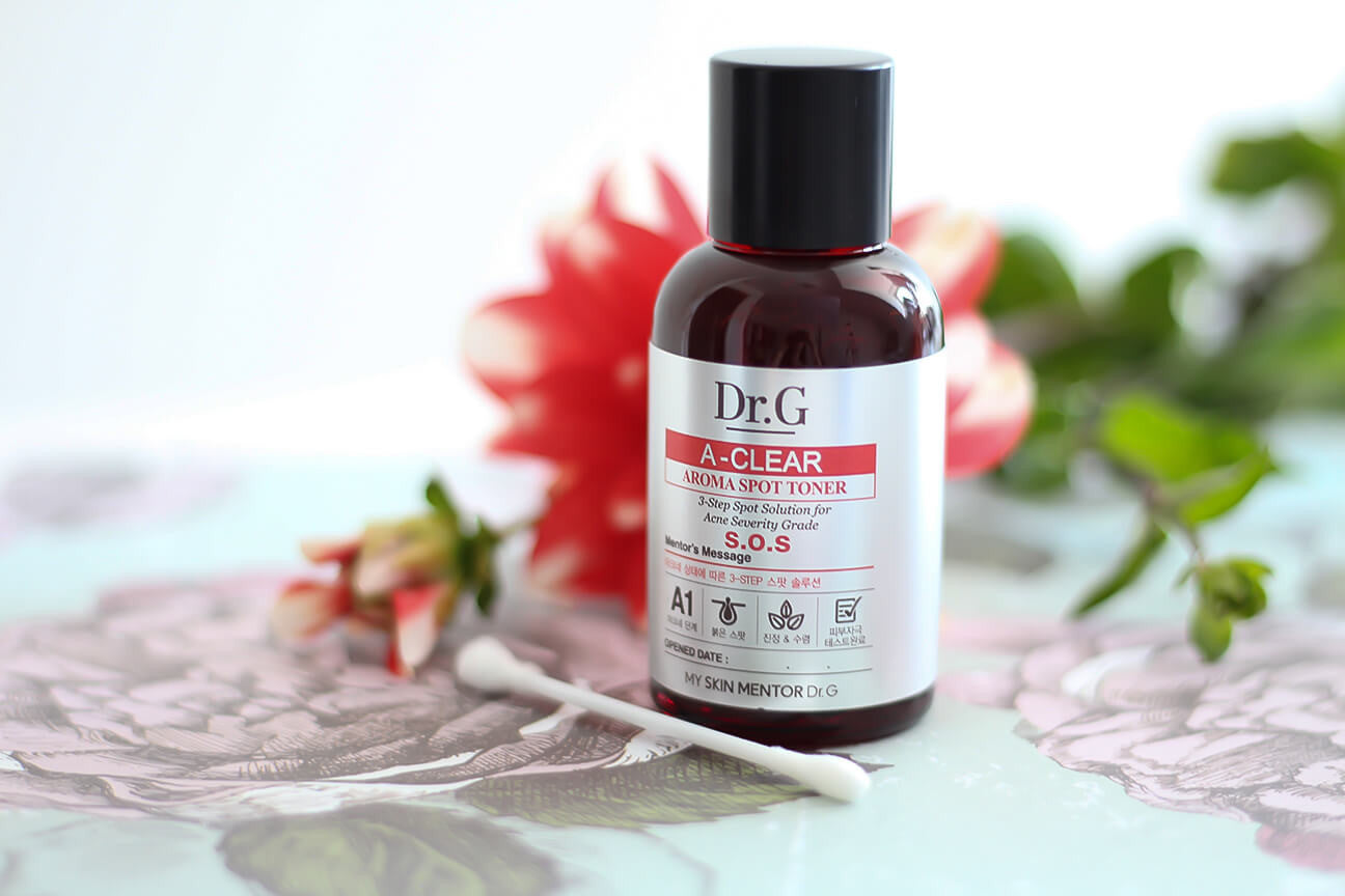 Review: Dr.G A-Clear Aroma Spot Toner