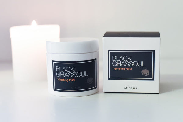 Get rid of blackheads: Missha Ghassoul Clay mask