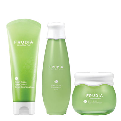 Frudia Green Grape Pore Control Set