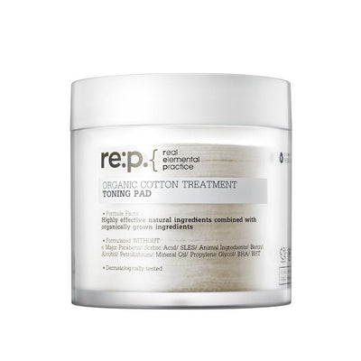 Organic Cotton Treatment Toning Pad
