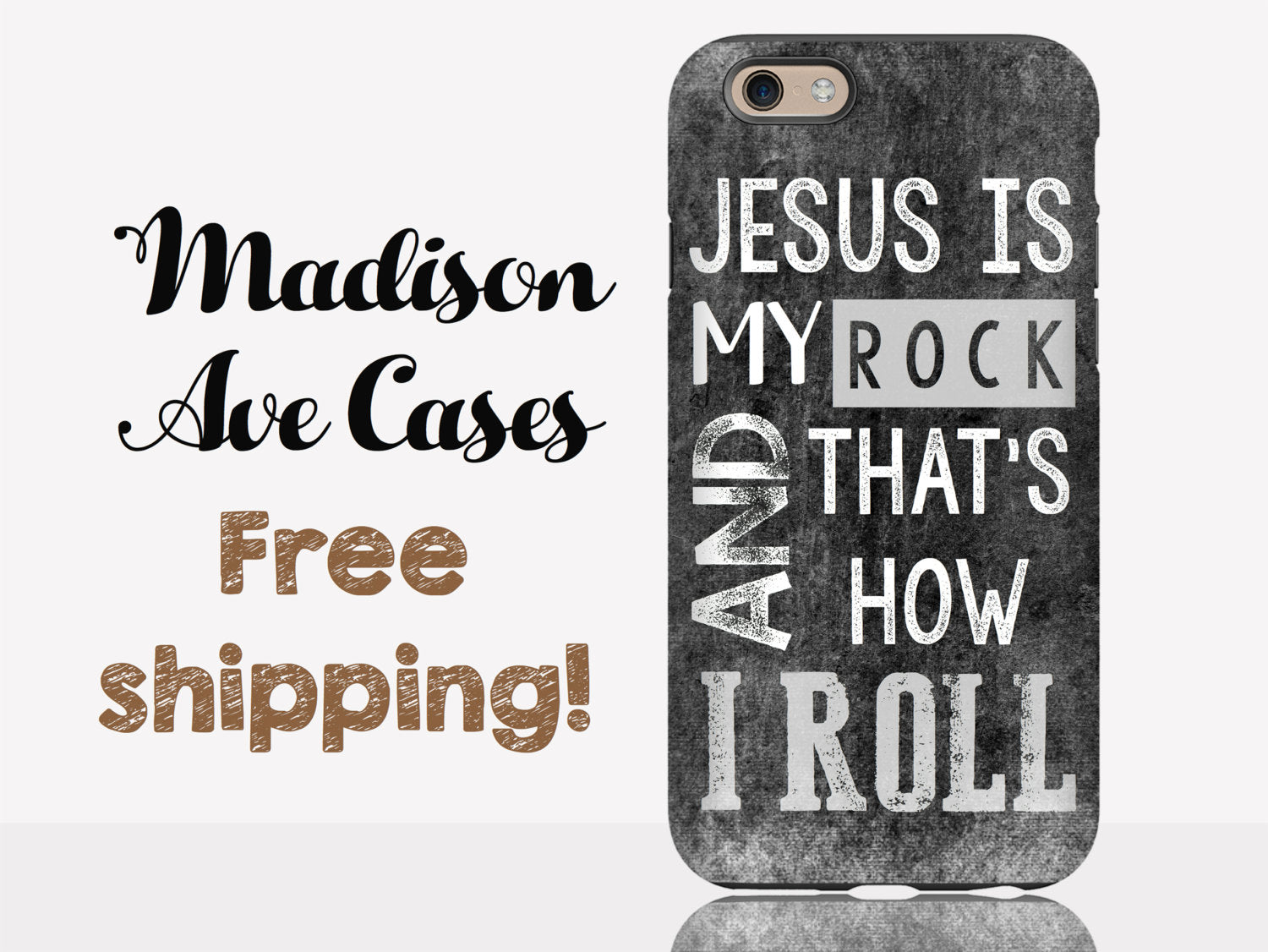 Jesus Is My Rock & That\'s How I Roll Coffee Christian Bible ...